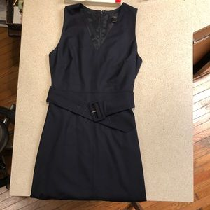 J crew wool suit dress
